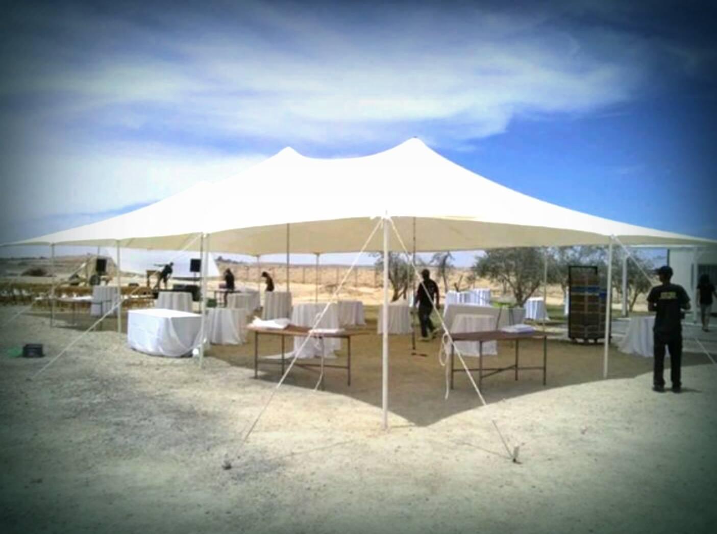 נגב אוהלים בשטח